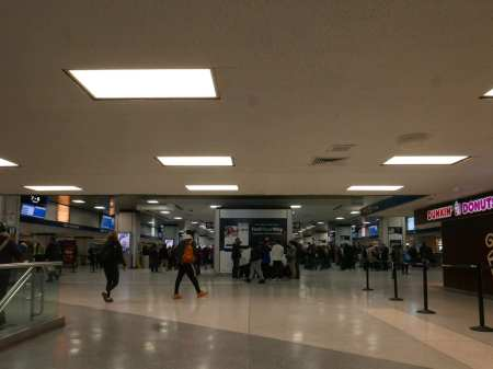 Concourse from South to North in 2019