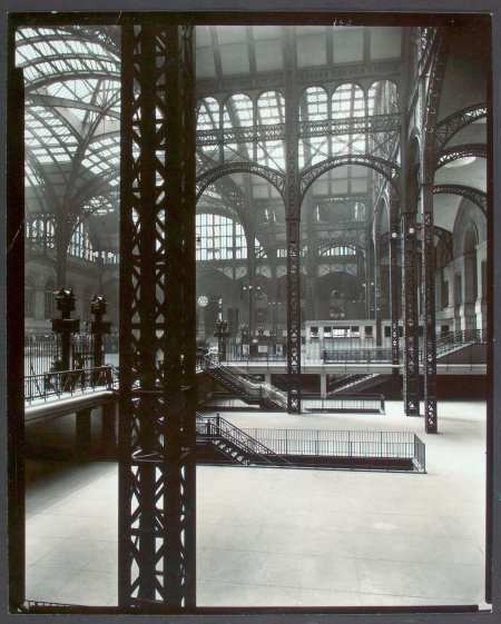 Concourse in 1935-38 by Berenice Abbott