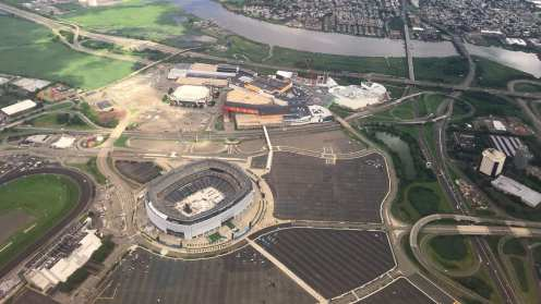 Current Meadowlands Sports Complex