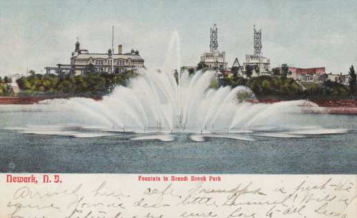 Branch Brook Park's Reservoir once supplied the entire city with water.
