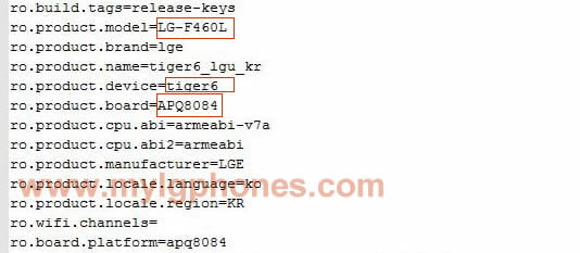 [Exclusive]LG F460L with Snapdragon 805 Confirmed, Is it LG G3 Prime?