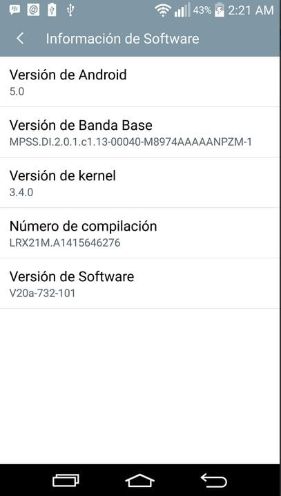 LG Offcial Android 5 0 Firmware for Poland LG G3 (D85520A