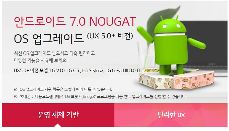 South Korea LG V10 F600 Android N 7 0 software update, Stock
