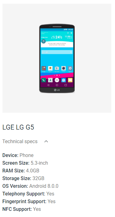 LG G5 to receive Android Oreo Update soon – My LG Cell Phones