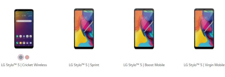 LG Stylo 5 LM-Q720VSP Coming Soon to Verizon Wireless - My LG Cell