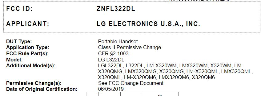 Tracfone LG Journey LTE L322DL Firmware?