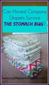 Can Honest Company Diapers Survive the Stomach Bug? via My Life as a Rinnagade