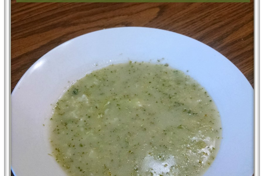 Gluten & dairy-free broccoli soup via My Life as a Rinnagade