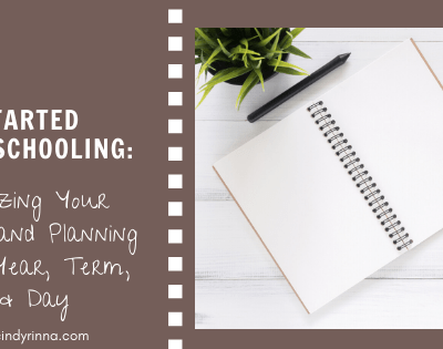 How to Get Started Homeschooling: Organizing and Planning