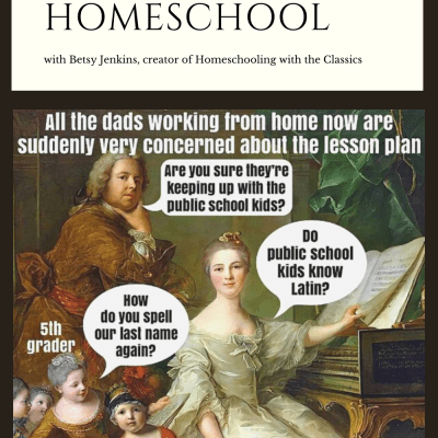 The Importance of Humor in Our Homeschool with Betsy Jenkins