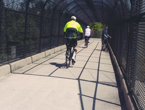 Bike Bridge near BWI