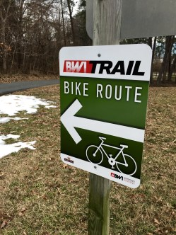 BWI Trail loop sign