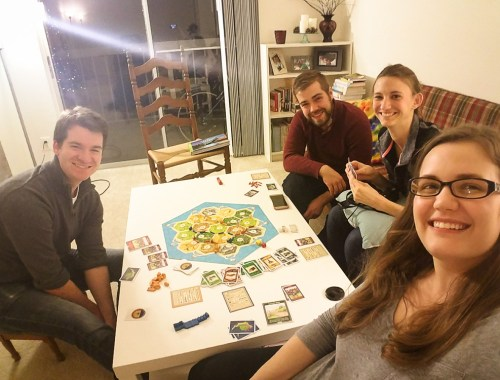 Settlers of Catan with Friends
