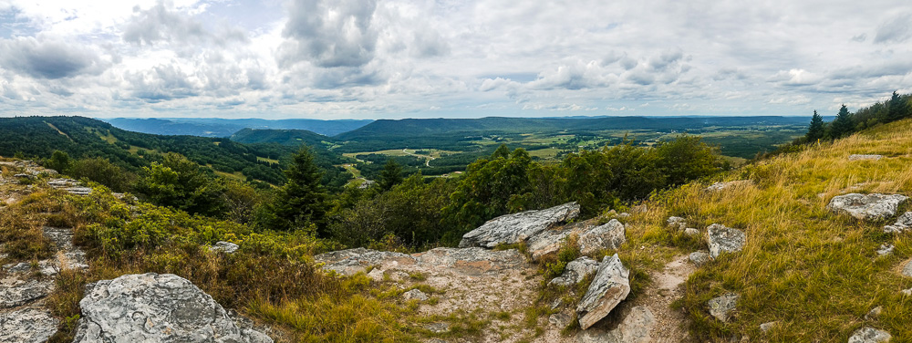 View from Bald Knob, Canaan Valley Resort, West Virginia, USA