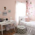 Sweet & Feminine Bedroom Space for a Tween Girl
