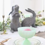A Cheery Pastel Easter Tablescape