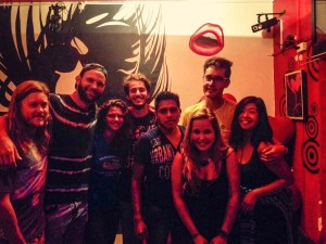 International Party in Oaxaca - 2xIsrael, 2xGermany, Australia, Sweden & Mexico