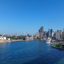 sydney skyline & opera house