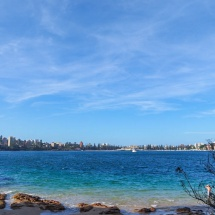 Manly Scenic Walk view on manly