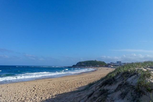 Newcastle Nobbys Beach