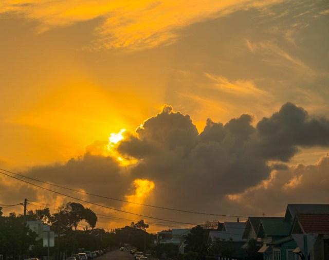 Newcastle sunset sunporn