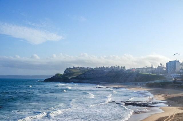 Newcastle view beach