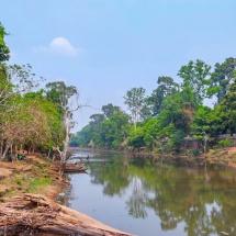 Angkor river