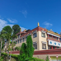 Kopan-meditation hall side