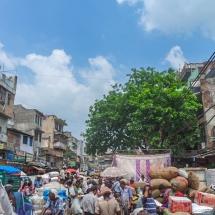 New Delhi-old delhi market
