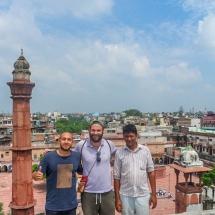 New Delhi-view on old delhi group pic