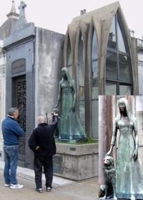 Ruhestätte von Liliana Crociati de Szaszak