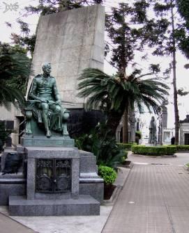 Grabmal im Friedhof Recoleta