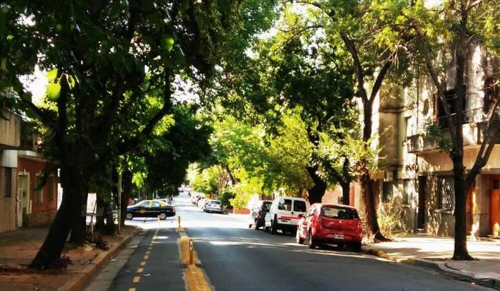 Nebenstraße in Belgrano