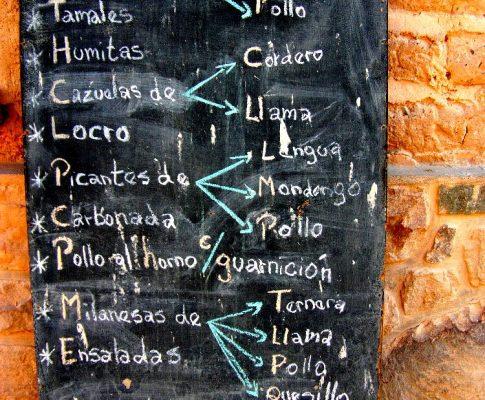 Empanadas und südamerikanische Spezialitäten