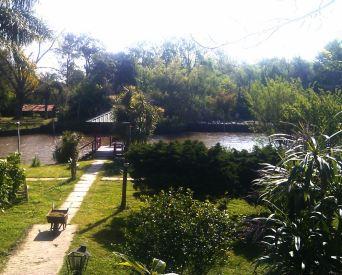 Blick auf Kanal
