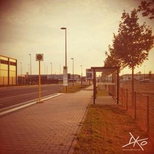 Bushaltestelle BER