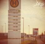 Bushaltestelle BER - kein Verkehr