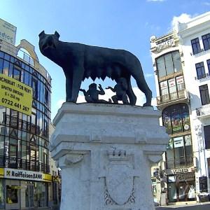 Romulus Remus Staue in Bukrest by DkO