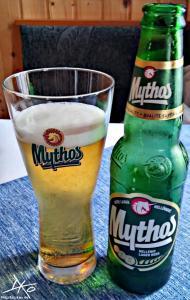 Flasche Mythos - griechisches Lagerbier