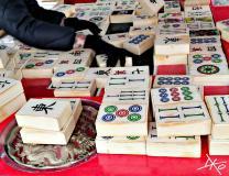 Mahjong in den Gärten der Welt