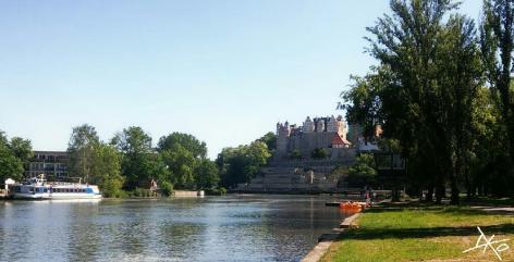 Schloss-Bernburg-Kanutour