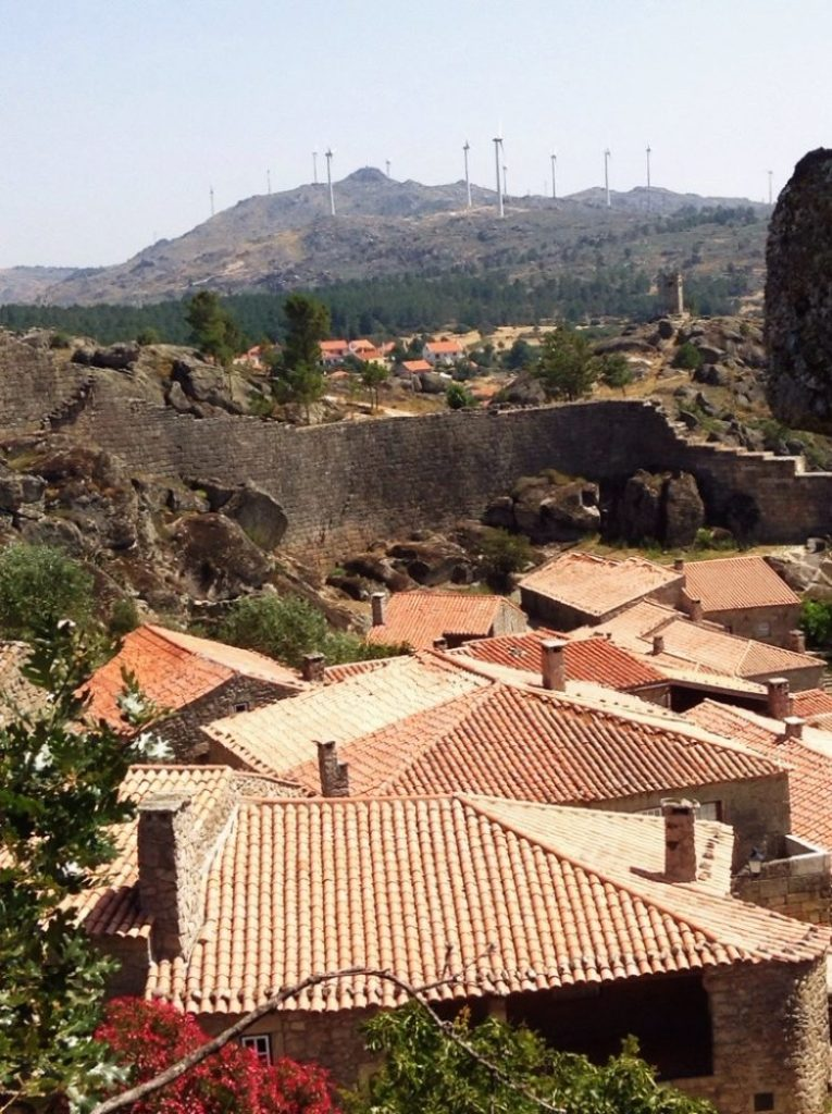 Views from the walls of Sortelha, Serra da Estrela, Portugal