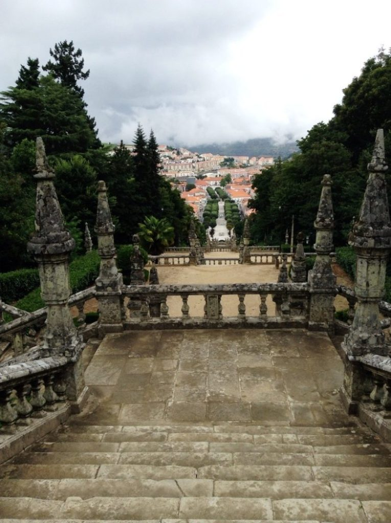 A view of Lamego from the Cathedral