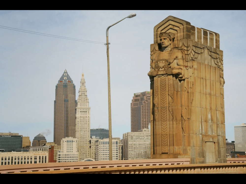 Hope memorial bridge, Cleveland Ohio