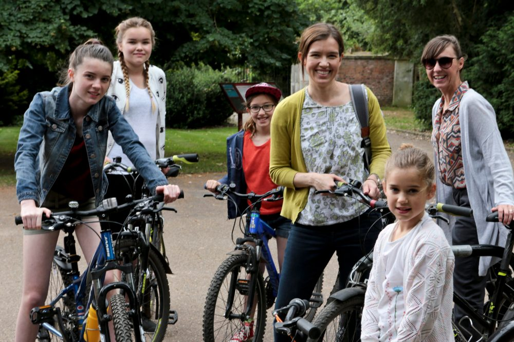 cycle hire with National trust at clumber park nottinghamshire