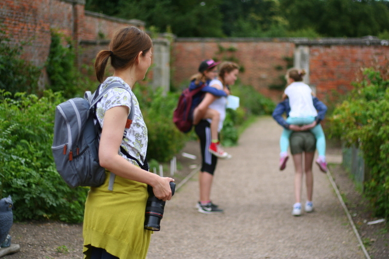 tour of the victorian garden at clumber park nottinghamshire, National Trust