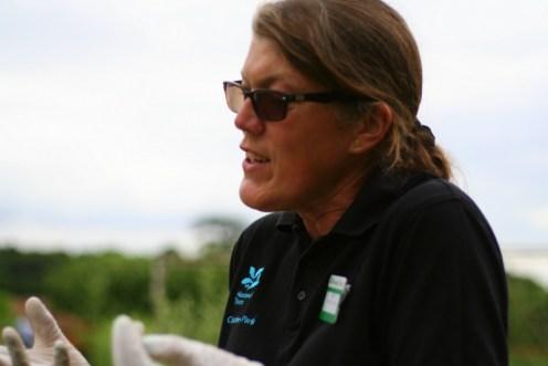 sarah gardener at clumber park nottingham national trust