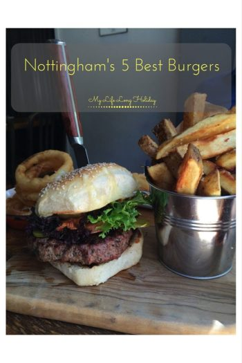 The foodie city of Nottingham has a lot of fine restaurants, so I have compiled a list of my favourite 5 burgers - the best this city has to offer