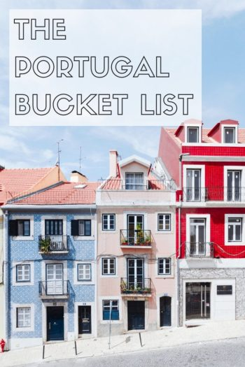 5 Great Places you should put on your bucket list for Portugal this year. Unmissable towns and experiences along with some great hidden gems. Click through for more info... #Portugal #portugalbucketlist #europe