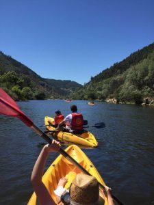 kayaking on the mondego